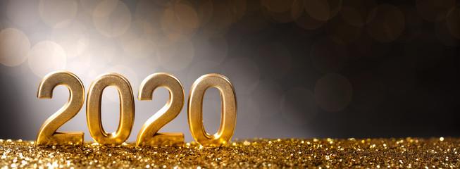 Happy New Year 2020 Fotomurales
