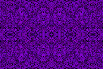 Textured African fabric, purple color