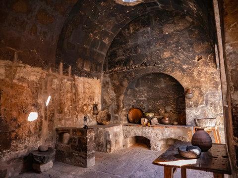 Old nuns kitchen in  Saint Catherine Monastery (Convento de Santa Catalina), Arequipa city, Peru