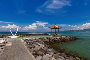 Candidasa Beach - Bali Island Indonesia