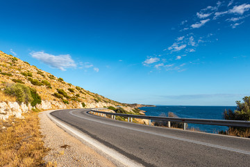greek road by the sea-1