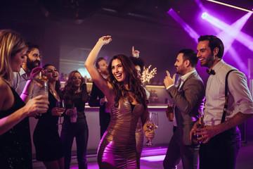 Feeling free on the dance floor
