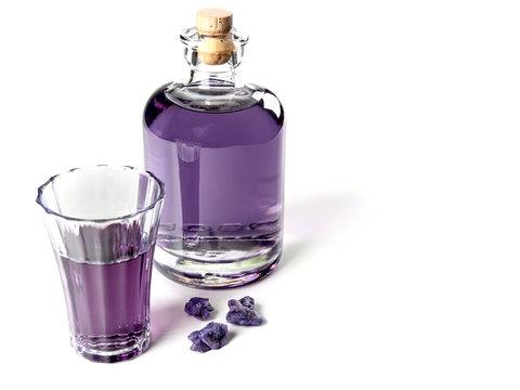 Crème de Violette liqueur
