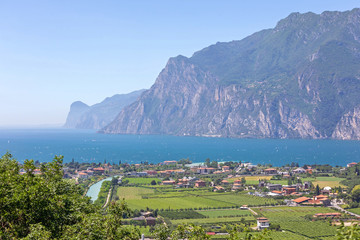 Wall Murals Northern Europe Lake Garda North