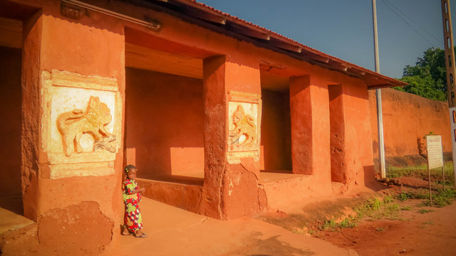 View to Royal Palaces of Abomey , Benin