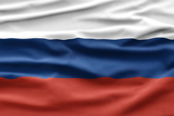 Russia National Holiday. Russian Flag background with national colors.