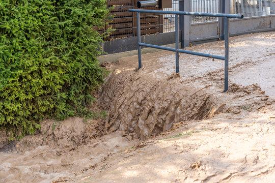 Unwetter verursacht Überschwemmungen