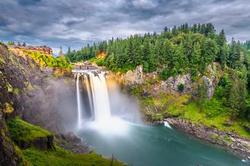 Fototapete - Snoqualmie, Washington, USA