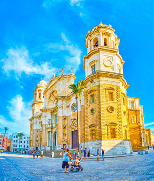 The magnificent Cathedral of Cadiz, SPain