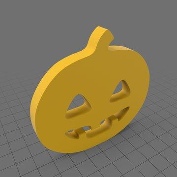 Jack o lantern symbol