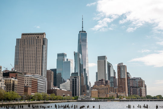 architecture wallpaper image, New York city architecture photography, skyline of New York city image, city landscape image