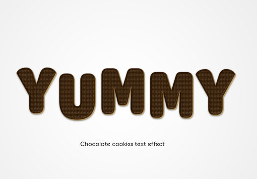 Frosted Cookies Text Effect