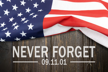"9/11 Patriot Day, September 11. ""Never Forget"""