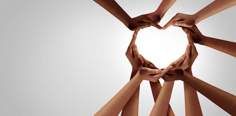 Fototapeta Unity And Diversity