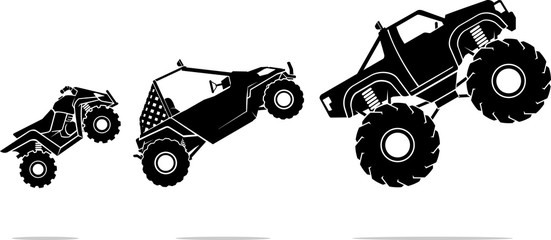 Off Road Vehicles, Mid Air