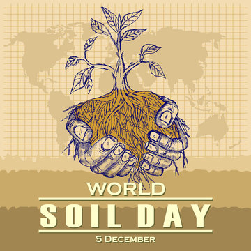 World Soil Day, poster and banner