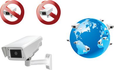 telecamera a muro civile e privata video sorveglianza