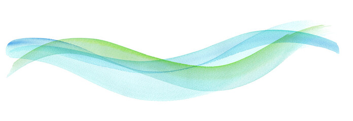 透明な水、爽やかな風の抽象イメージ