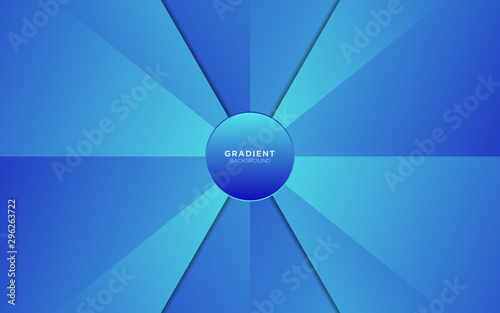 Dynamic Arrow Background With Light Blue Gradient Color