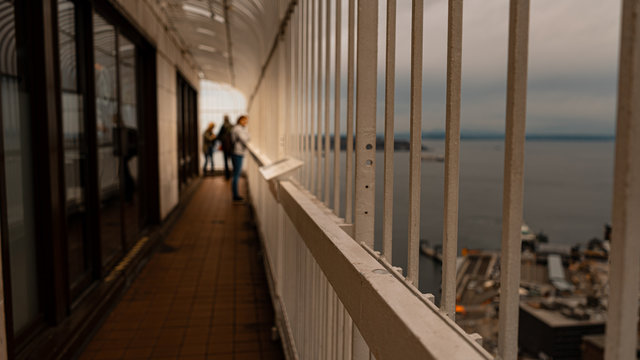 Seattle Smith Tower Observation Deck