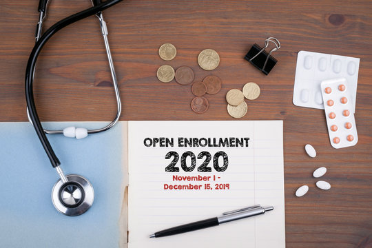 The 2020 Open Enrollment Period from November 1 to, December 15, 2019