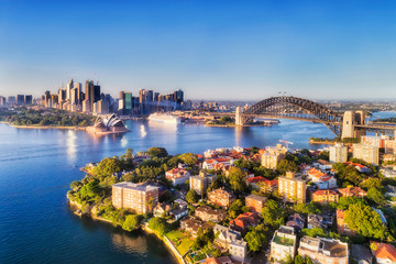 Photo sur Aluminium Sydney D Sy Kurraba 2 CBD over kirribilli