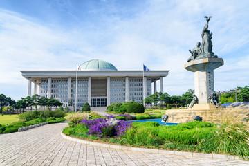 Aluminium Prints Seoul The National Assembly Proceeding Hall in Seoul, South Korea