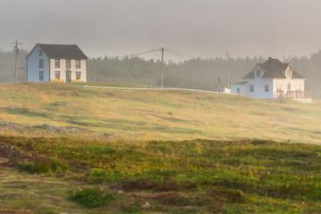 House in Elliston Point, Newfoundland, Canada