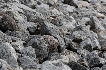Die Steine am Brombachsee Damm