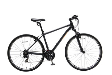 Aluminium Prints Bicycle Isolated Gent Mountain Bike With Cobalt Frame
