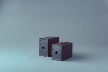 Vintage photo cameras