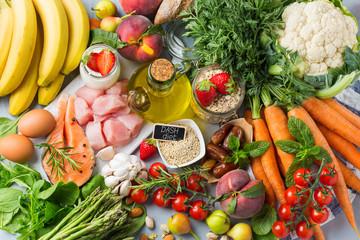 DASH diet Mediterania fleksibel untuk menghentikan hipertensi, tekanan darah rendah