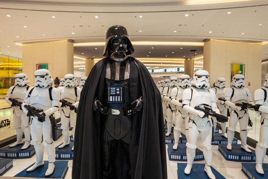 Star Wars characters, Dubai Mall