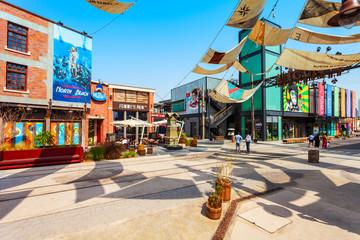 La Mer Jumeira beach town, Dubai