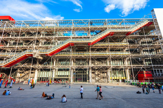 Centre Georges Pompidou Museum, Paris