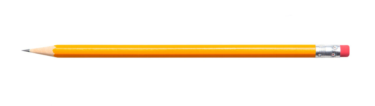 Pencil isolated on white background 2