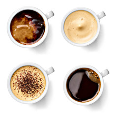 In de dag Cafe coffee cup drink espresso cafe mug cappuccino