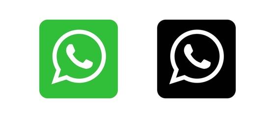 WhatsApp Set of social media logos