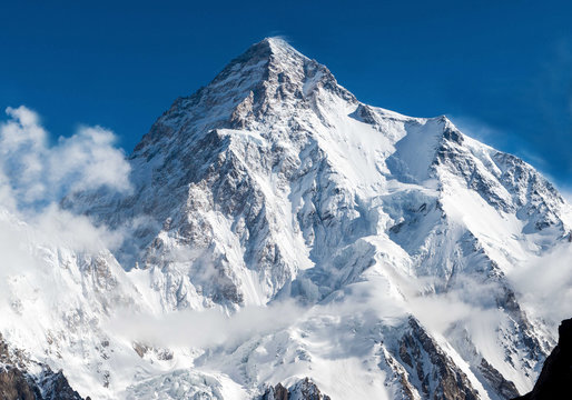 K2, the second highest peak on the earth situated in the Pakistn