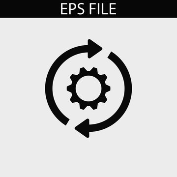 Consistency icon. EPS vector file