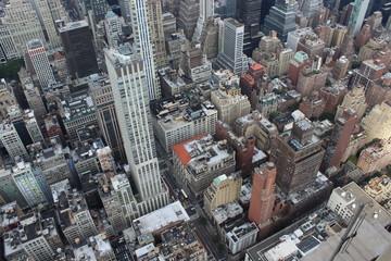 Fotobehang New York New York City from above