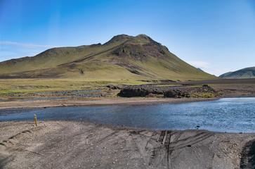 Landmannalaugar landscape in Iceland
