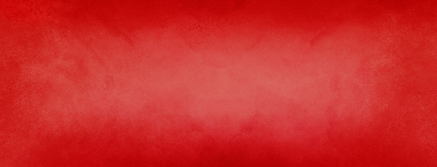 Wall Mural - red paper background in Christmas holiday colors, vintage marbled watercolor textured border