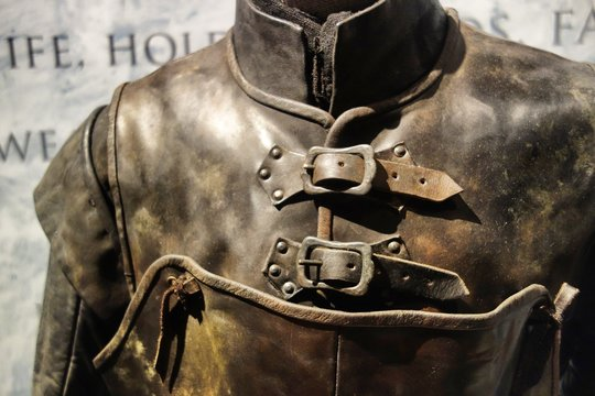 Vintage soldiers armour
