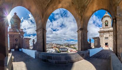 Wall Mural - Cathedral Santa Ana Vegueta in Las Palmas, Gran Canaria, Canary Islands, Spain