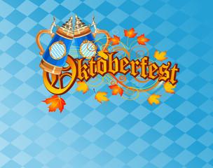 Foto op Canvas Sprookjeswereld Oktoberfest Celebration Background