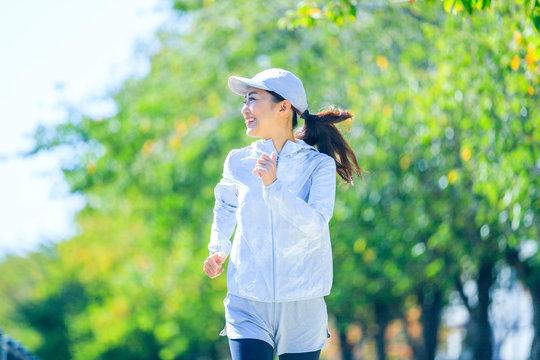 ジョギング・女性
