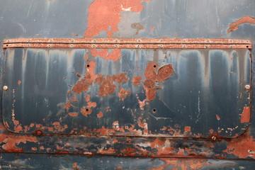 車の傷 Deteriorated car (rust, dent, dirt, scratches)