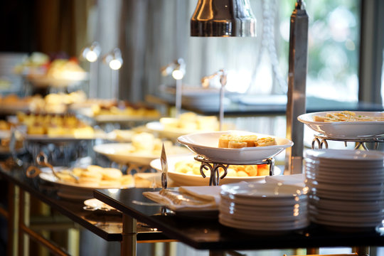 Breakfast buffet For the party or Conference in the hotel.