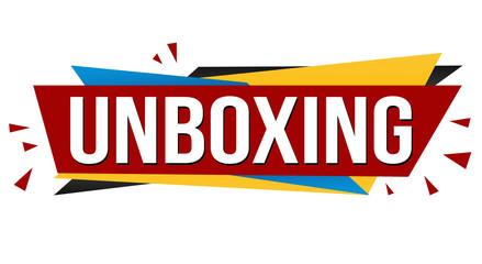 Unboxing banner design